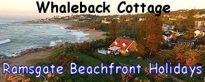 Whaleback Cottage Ramsgate beachfront